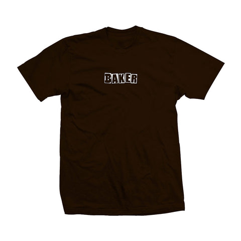Brand Logo Dark Chocolate Tee