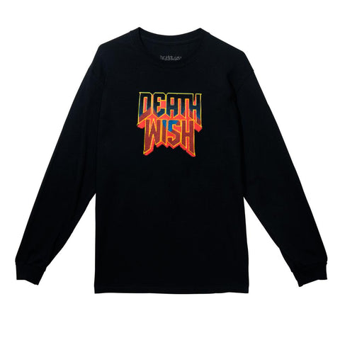 RAISING HELL LONG SLEEVE BLACK