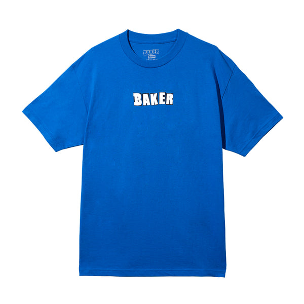 BRAND LOGO TEE ROYAL BLUE