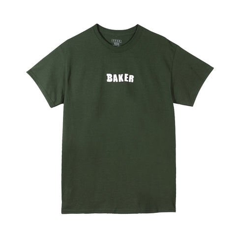 Brand Logo Tee Forest Green