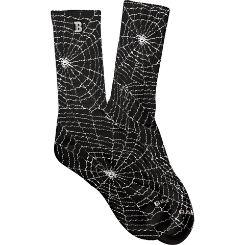 Spider Socks Black