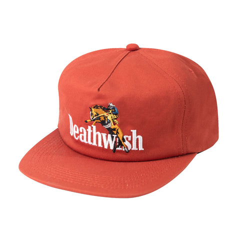 High Horse Snapback Burn Orange