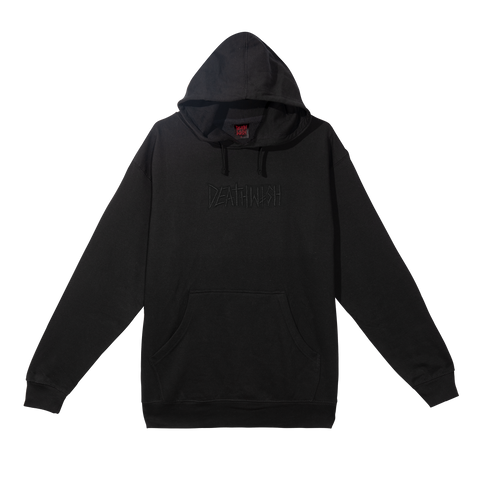 DEATH TAG PULLOVER BLACK/BLACK