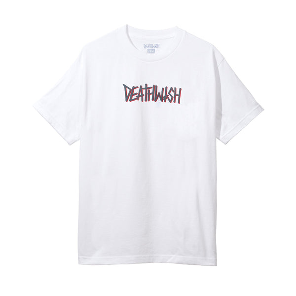 Deathspray White/Grey Tee