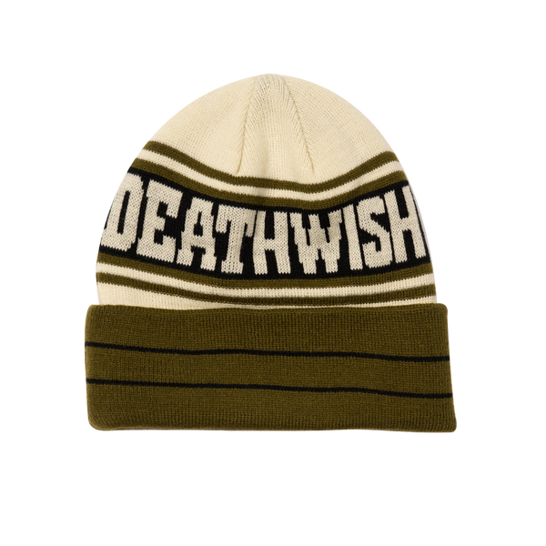 The Truth Beanie Olive/Tan