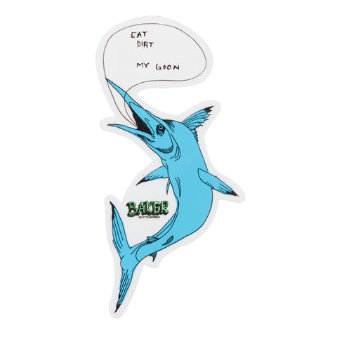 Fish Talk Sticker Single