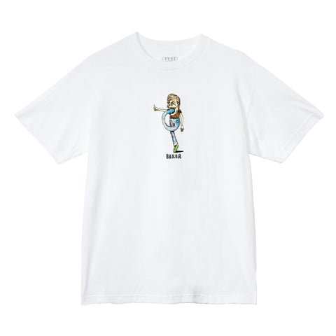 Foot in Mouth Tee White