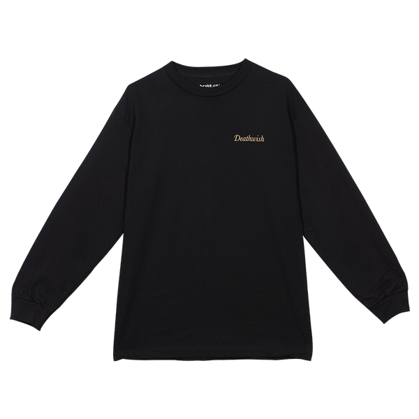EXTREMIST LONG SLEEVE TEE BLACK