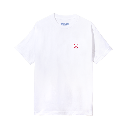 GANG LOGO CIRCLE TEE WHITE