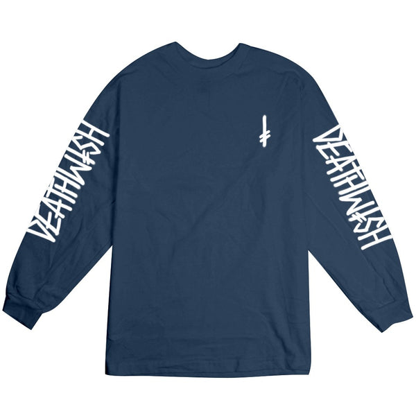 LANDMARK LONG SLEEVE BLUE/WHITE