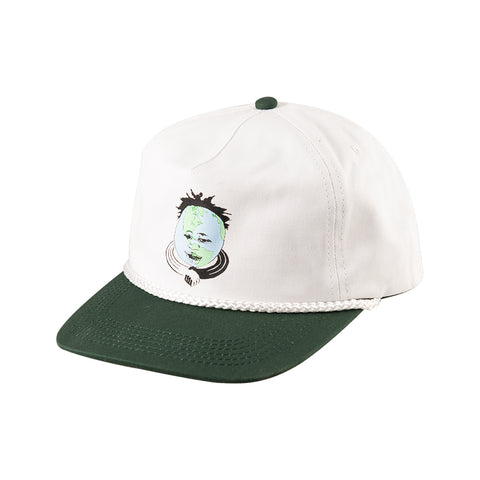 Kaders World White Snapback