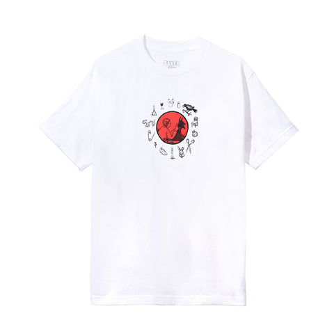 Superstitions Tee White