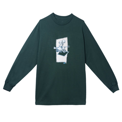 SHARKOCYCLE LONG SLEEVE GREEN