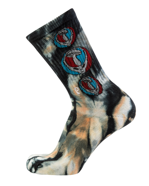 Mush Head Tie-Dye Psocks
