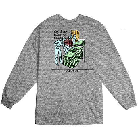 Get Money Long Sleeve Tee