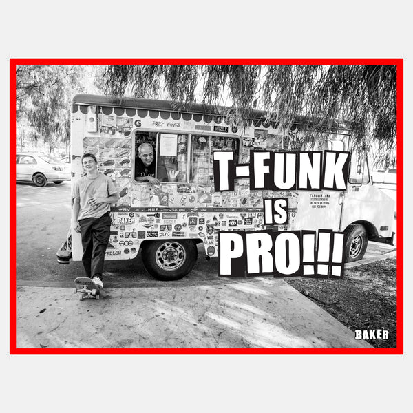 T-Funk Is Pro Poster