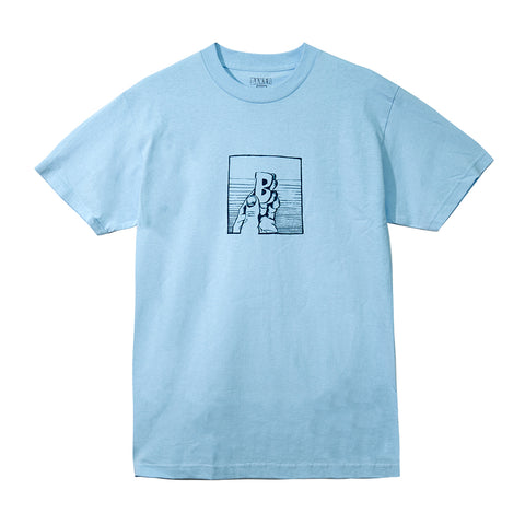 THUMBY TEE POWDER BLUE