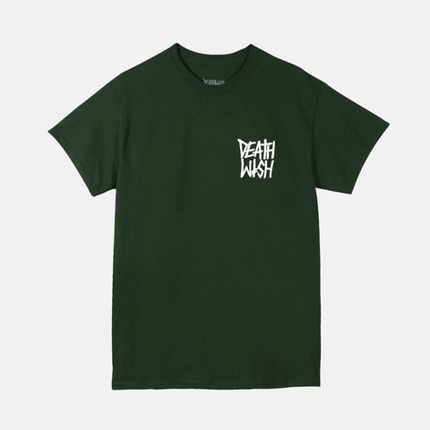 The Truth Tee Forest Green White