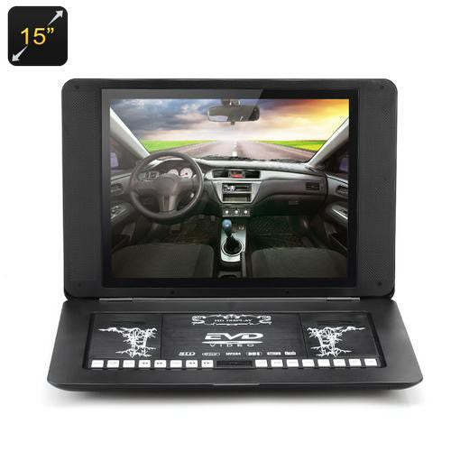 15 Inch Portable DVD with Copy Function - Gadget Discount Store