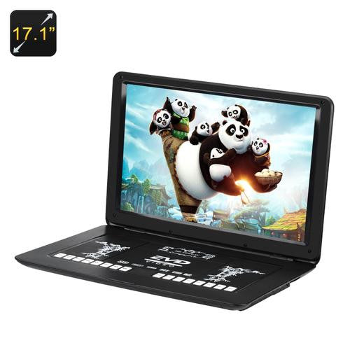 17.1 Inch Portable DVD Player - Gadget Discount Store
