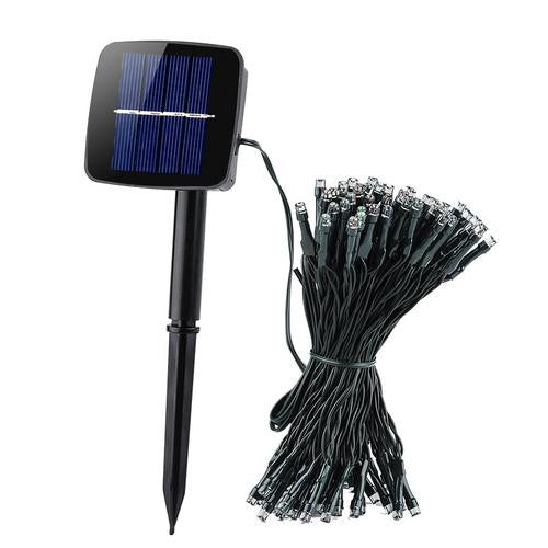 100 LED Solar Powered Fairy Lights - Gadget Discount Store