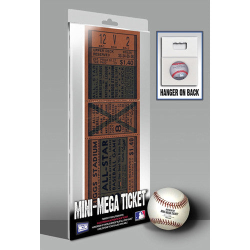 1941 MLB All-Star Game Mini-Mega Ticket - Detroit Tigers - Gadget Discount Store