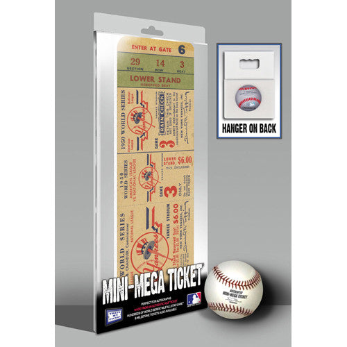 1950 World Series Mini-Mega Ticket - New York Yankees - Gadget Discount Store