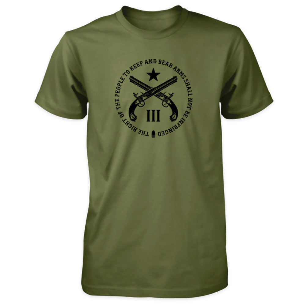 Pro Second Amendment Shirt - Military