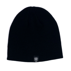 Three Percenter Beanie - III & 13 Stars - Black & White - Back