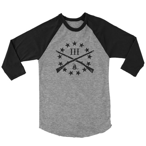 Three Percenter Raglan - The OG Logo
