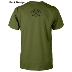 Three Percenter Shirt - Crusader Shield - Back design