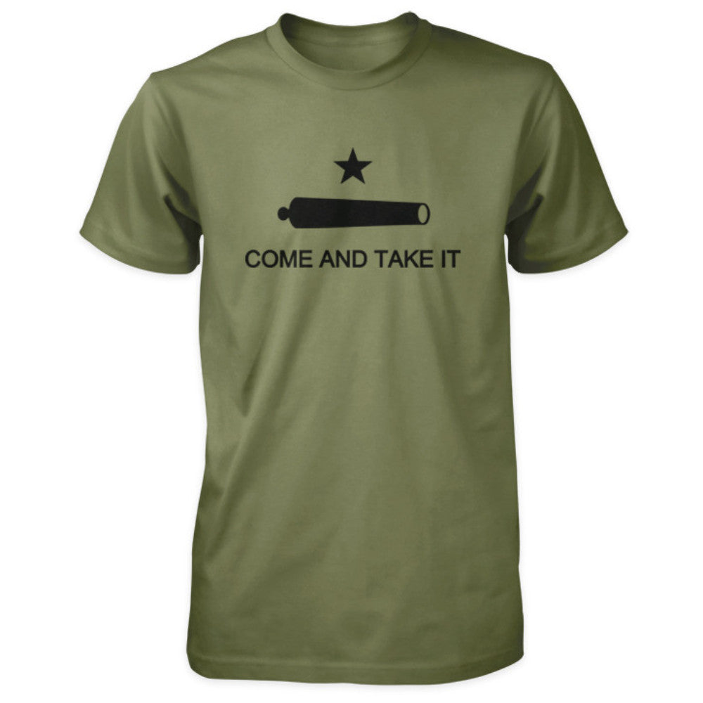 Texas Revolution Battle of Gonzales Come and Take It Flag Shirt - Military