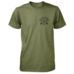 Three Percenter Shirt - Viking Shield & Axes | Front Print