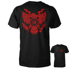 Great Seal of the Three Percent Shirt - Black with Red