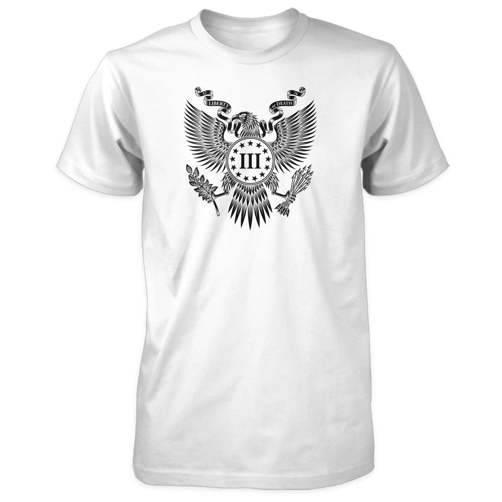 Great Seal Shirt - White with Black