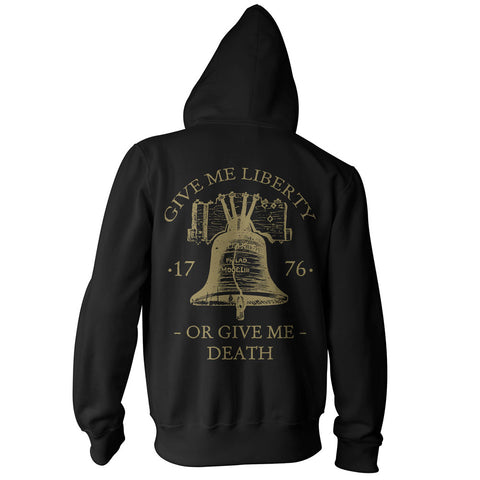Give Me Liberty or Give Me Death Pullover Hoodie