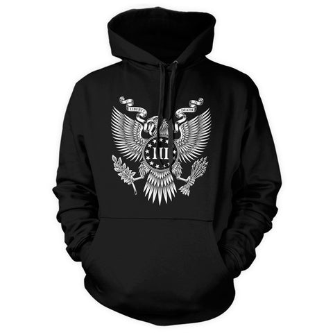 Pullover Hooded Sweatshirt - Great Seal of the III Percent - Front