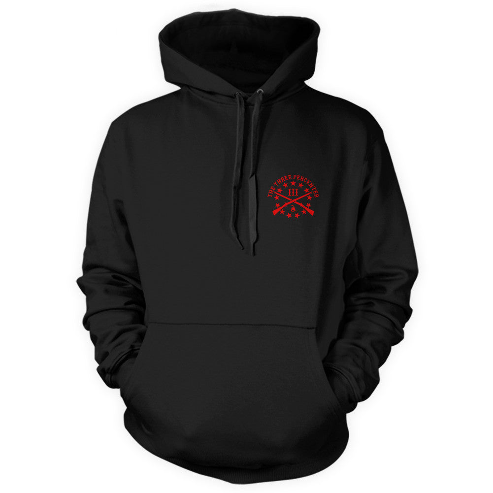 R.E.D.Hoodie Front