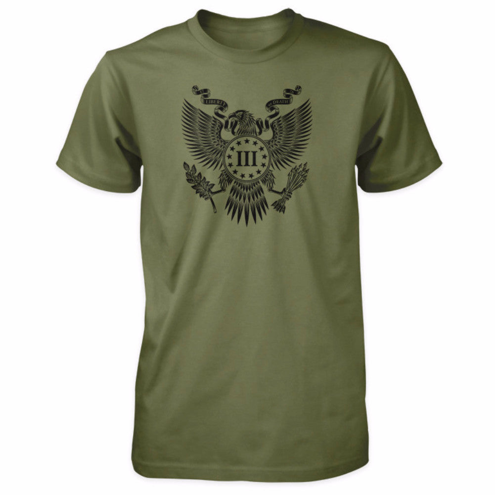 Three Percenter Shirt - Great Seal of the III Percent - Military