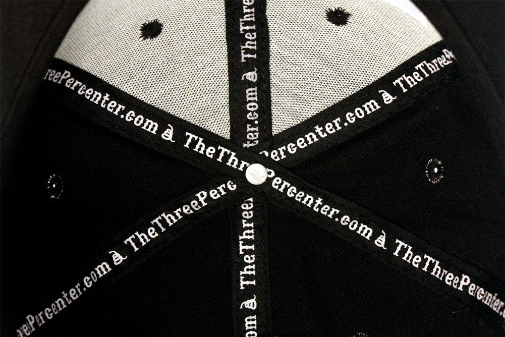 Three Percenter Snapback - Inside
