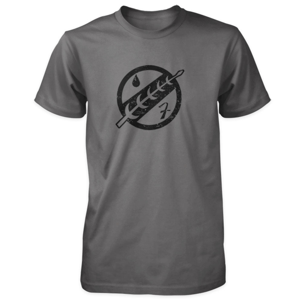 Star Wars Inspired Shirt - Boba Fett's Jaster's Feather Insignia - Charcoal