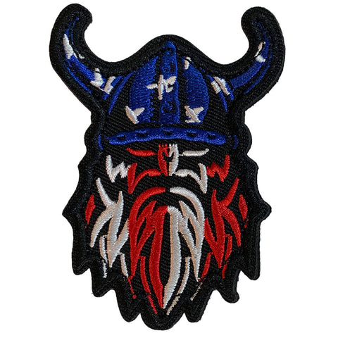 American Viking Embroidered Velcro Patch