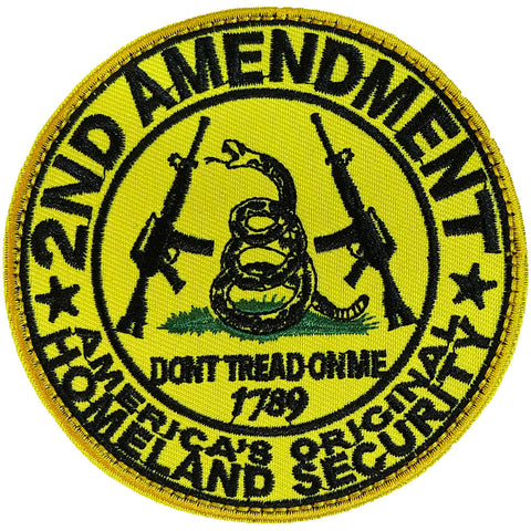 America's Original Homeland Security Embroidered Velcro Patch