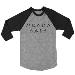 Molon Labe Raglan - Greek Text