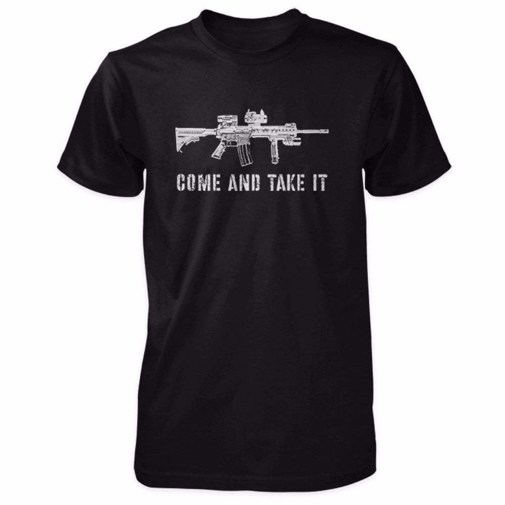 Come and Take It Tactical AR-15 Shirt - Black