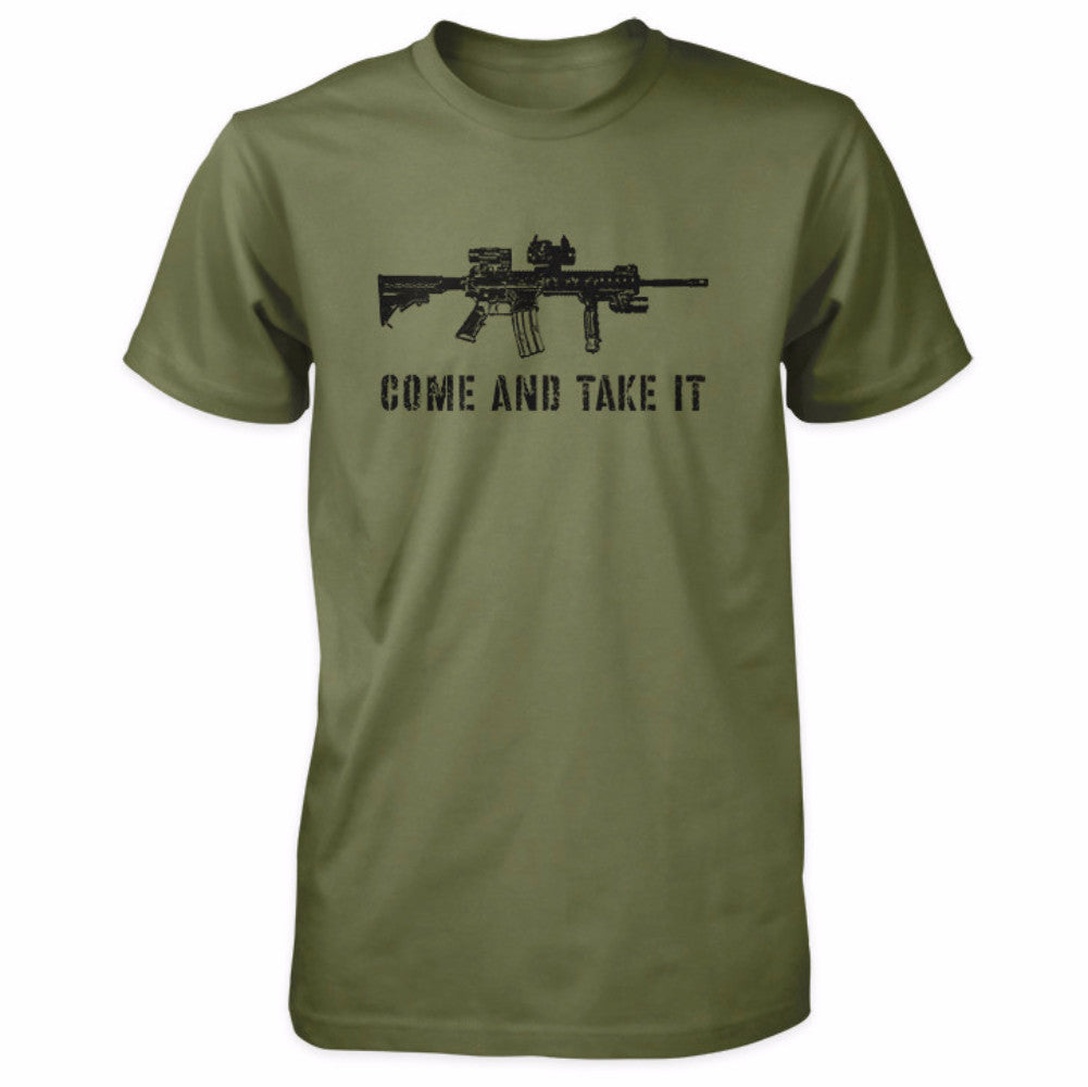 Come and Take It Tactical AR-15 Shirt - Military