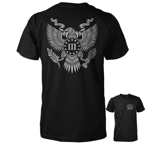 Three Percenter Shirt - Great Seal of the III Percent | Back Print