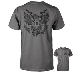 Three Percenter Shirt - The Great Seal of the III Percent | Back Print