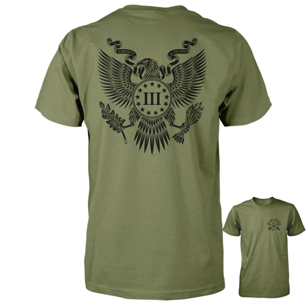 Iii Percent Gear : three percenter shirt great seal of the iii percent back print ~ Vivirlamusica.com Haus und Dekorationen