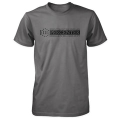 Three Percenter Shirt - When Tyranny Becomes Law v2.0 - Asphalt/Charcoal